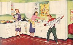 1950s kitchen images | 1950′s Kitchen Cabinets |