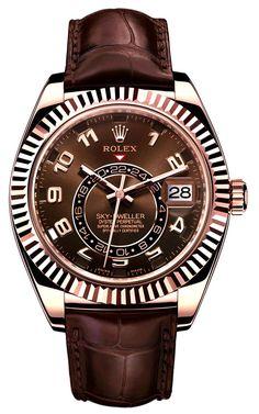Rolex Sky-Dweller #mode #style #fashion #luxury #lifestyle #goodlife #gentleman #party #dresstoimpress