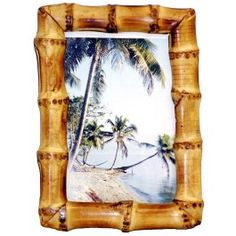 bamboo picture frame idea
