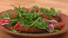 Nutty Chicken Cutlets with Citrus Salad #whatsfordinner