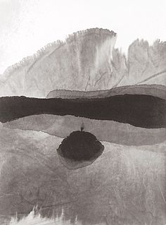 Gao Xing Jiang.  Penumbra. 2007. Chinese ink on paper.