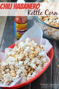 Chili Habanero Kettle Corn