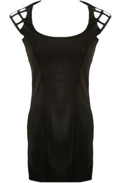 Cage Shoulder Dress (As seen on Rihanna)