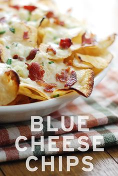 Blue Cheese Chips -