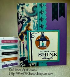 Life's like a Bowl of Stamps: November 2013 Stamp of the Month Blog Hop - Illuminate #LaughingLola