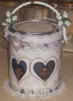 #Personalized #wedding giftcan by SweetDee484 on Etsy, $15.00
