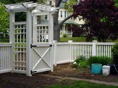 for Picket Fences, Privacy Fences and Lattice Fencing, Gates, Arbors