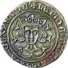 Kingdoms of England and France, Henry VI (1422-1453), groat (obverse)