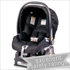 The highly rated Peg Perego Prima Viggao - just one of the infant seat we reviewed for our Choosing an Infant seat post!