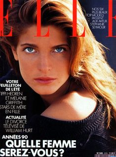 cover 80s, stephani seymour, magazin cover, stephanie seymour, ell cover, fashion magazin, 80s beauti, 80s model, 1989