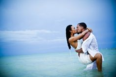 Steamy day-after wedding photo in Cancun, Mexico by JAGstudios | via junebugweddings.com