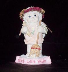 DREAMSICLES - Mama's Little Helper - Cherub / Angel Figurine