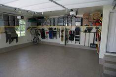 garage organization, organize garage, storage organization, garage shelving, dream garage