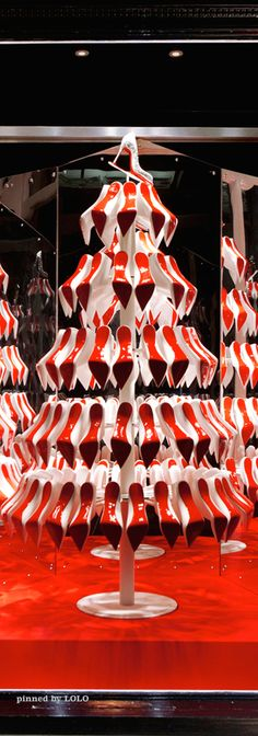 Tree of Christian Louboutins