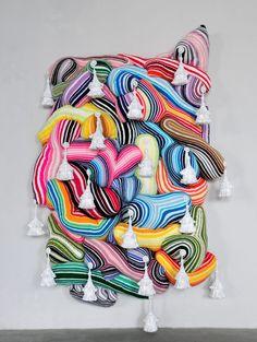 Joana Vasconcelos - Crochet Painting - Wow!