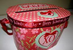 Ice Cream Container Valentine holder