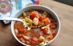 White Bean And Pasta Soup | 22 Easy One-Pot Meals With No Meat