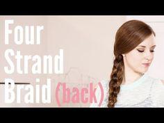 How To - Four Strand Braid (back strand version)