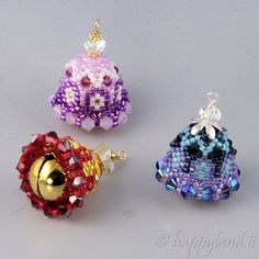Mini easter bells by Happyland87 on Etsy, $10.00