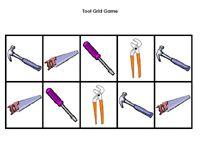 Tool Grid Game 10 Spaces