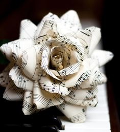 Wedding Trends: Bouquet Alternatives. We've done several weddings with paper flowers {including my own}...looks so lovely in photos.
