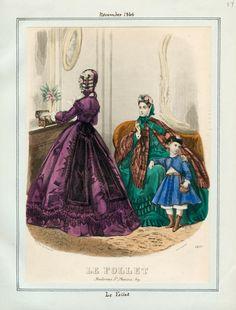 November, 1863 - Le Follet