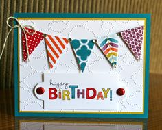 Stampin' Up! Birthday by Krystals Cards and More: Bring on the Cake Birthday Card Class