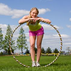 Hoop Yourself Slim With This Hula-Hoop Workout: What's not to love about this super-fun workout? It burns mega calories, sculpts your body, and blasts off belly fat.