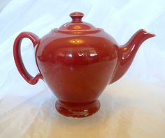 McCormick Tea teapot from Hall China 1950s by TreasuresFromTexas,