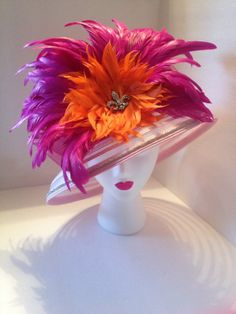 Kentucky Derby Pink Hat by TerrillHats