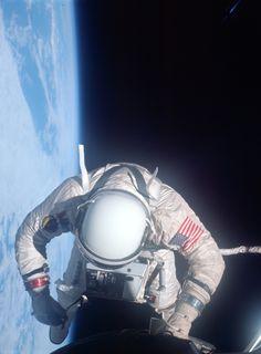 Astronaut Aldrin, Gemini 12, November 1966