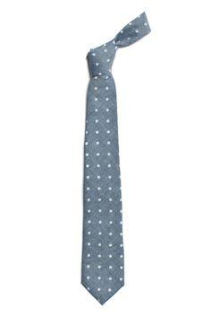 darn cute tie//Arrow Tie in Polka Dot