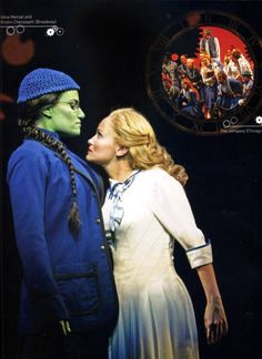 Wicked. Idina and Kristin playing Elphaba and Galinda respectively. Enough said.