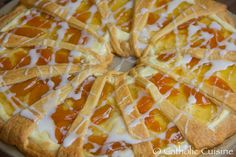Catholic Cuisine: Golden Peach Coffee Cake for Easter
