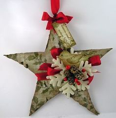 Corrugated Cardboard Christmas
