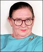 Jennifer Paterson; half of the Two Fat Ladies cooking show, spontaneous singer, amazing cook, and my favorite Catholic of all time.