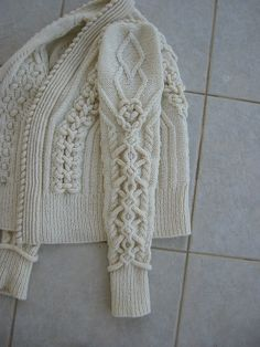 Amazing cable knit.