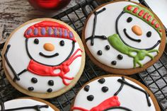 holiday, christma cooki, cooki exchang, cooki decor, snowmen cooki, recip, decor snow, decor cooki, snowman cookies