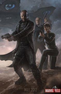 Avengers, S.H.I.E.L.D. Concept Art!