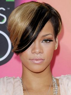 The Cutest Short Haircuts for Summer! #Rihanna -I'm seriously thinking about cutting my hair short like this for the summer
