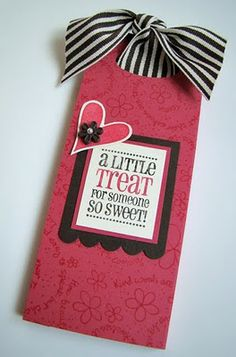 HERSHEY BAR SLIDER....this is such a cute idea that you could do for any holiday or occasion.