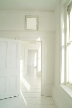 white empty spaces