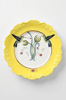 Natural World Dessert Plate - anthropologie.com