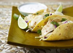 Zesty Fish Tacos / #recipe
