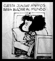 Mafalda veritat, calm, mafalda, agre, thought, humor, fun, cosa