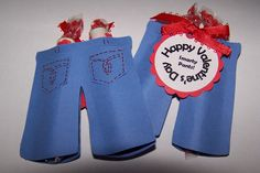 valentine card - smarty pants