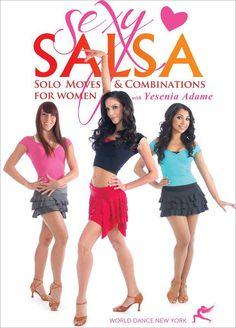 "Yesenia Adame's ""Sexy Salsa"" DVD video program"