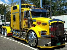 Wow!!! That's a SWEET #Kenworth truck!!