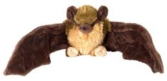Mini Brown Bat Cuddlekins at theBIGzoo.com, a toy store featuring 3,000+ stuffed animals.