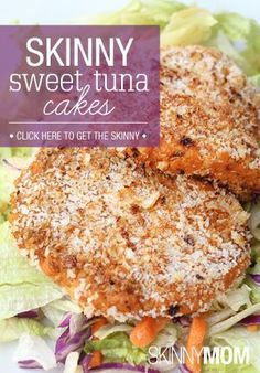Try these yummy tuna sweet potato cakes out for a healthy lunch one day!